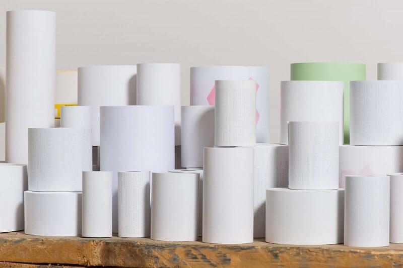 Normalpapier-Kassenrollen aus holzfreiem Papier