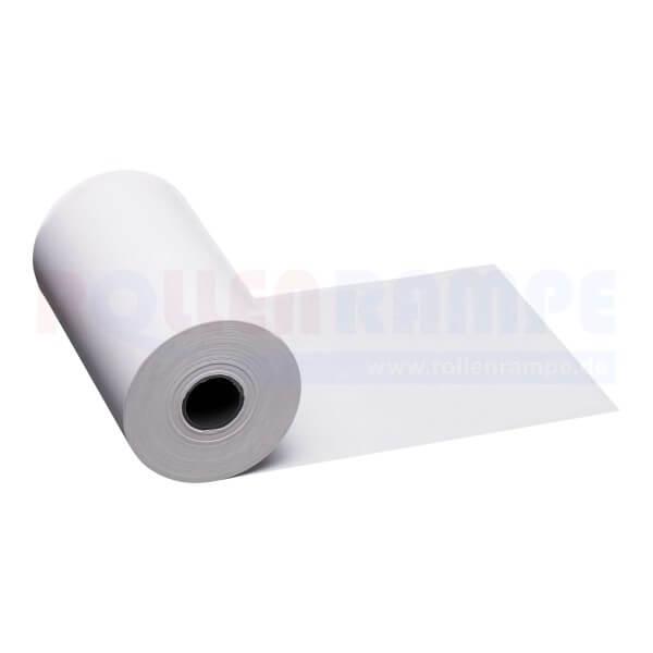 Thermorolle 80x46x12 - 25lfm, weiß , liegend