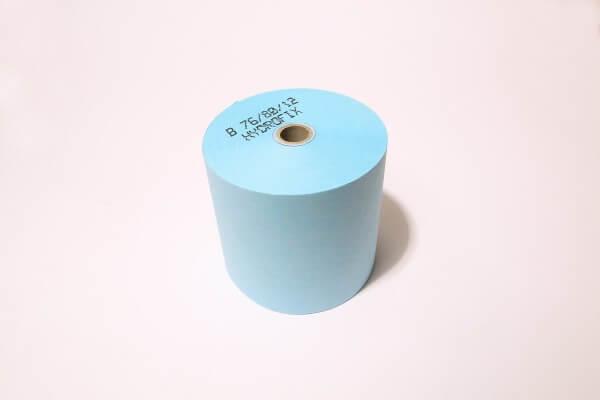 50 Hydrofixrollen 76/80/12 -42m aus waschfestem Papier